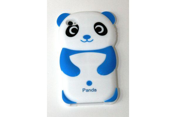 iPhone 5 | 5S Hoesje Panda Wit-Blauw