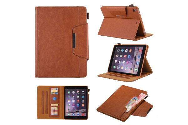 iPad Air 2 Book Cover Deluxe Bruin