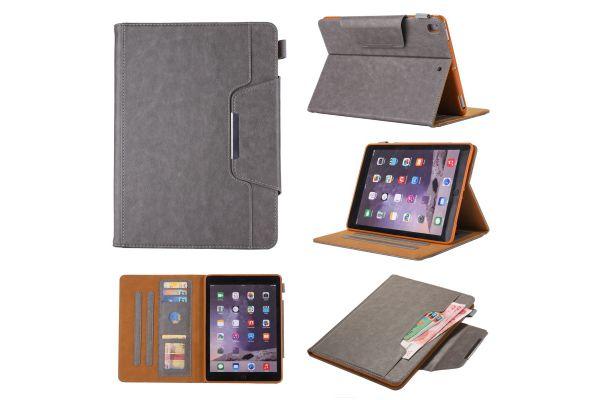 iPad Pro 9.7 Book Cover deluxe grijs