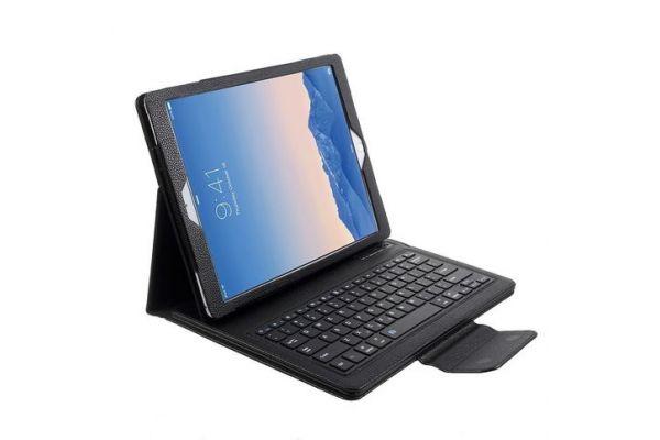 iPad Pro 12.9 (2017) hoes met draadloos toetsenbord Zwart