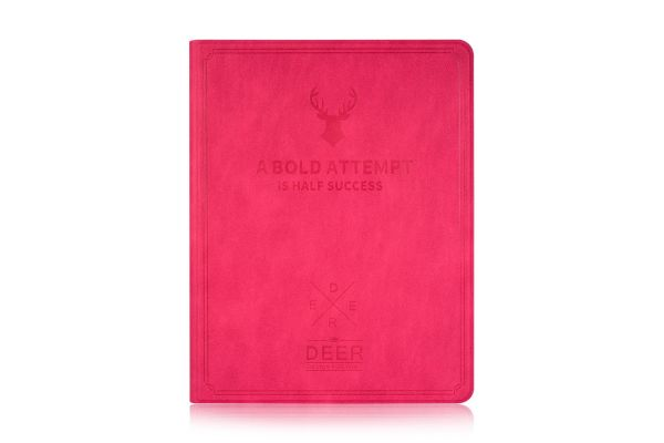 iPad 2-3-4 design hoes fuchsia DEER
