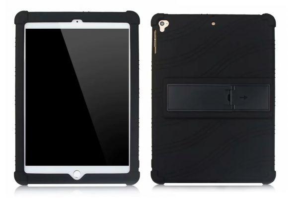 iPad 2018 9.7 inch Kinderhoes backcover schokbestendig Zwart