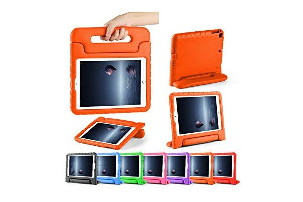 Kinderhoes iPad 2018 9.7 inch oranje