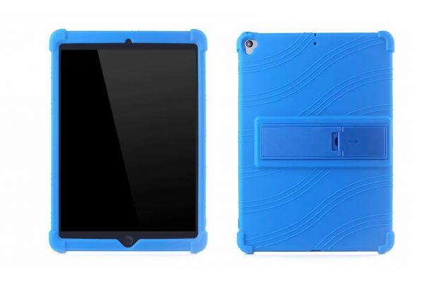 iPad Air 10.5 inch Model 2019 kinderhoes backcover schokbestendig Blauw