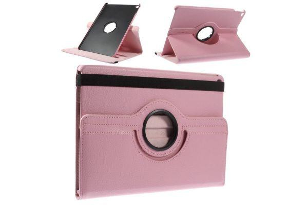 iPad Air 2 PU leren Draaibare Hoes licht roze