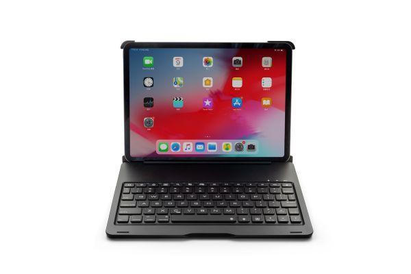iPad Pro 11 inch Case Bluetooth verlicht toetsenbord Zwart