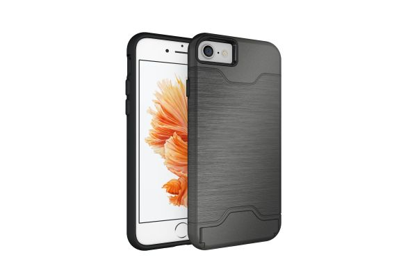 iPhone 8 Back Cover Case grijs