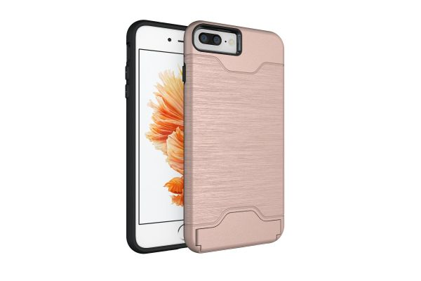 iPhone 8 plus Back Cover Case rose goud