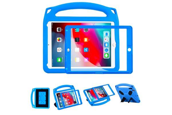 iPad 2018 9.7 inch Kinderhoes met ingebouwde screenprotector Blauw