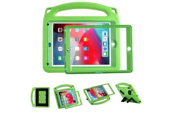 iPad Air 2 Kinderhoes met ingebouwde screenprotector Groen