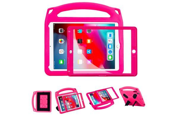 iPad 2018 9.7 inch Kinderhoes met ingebouwde screenprotector Roze