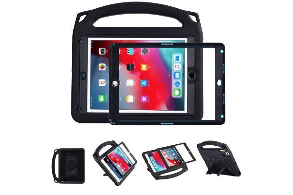 iPad Air 2 Kinderhoes met ingebouwde screenprotector Zwart