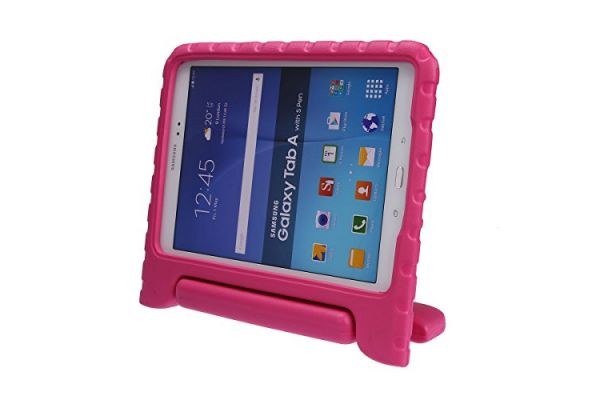 Samsung Tab A 9.7 inch T550 kinderhoes roze