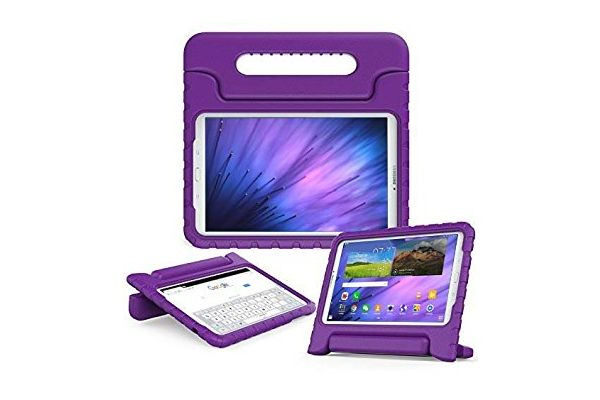 Samsung Tab e 9.6  kinderhoes paars T560 T561