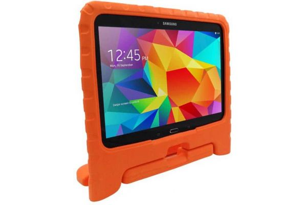 Samsung Tab 4 10.1 inch T530 - T533n kinderhoes oranje