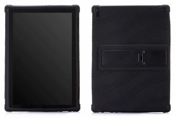 Lenovo Tab E10 Kinderhoes backcover schokbestendig Zwart
