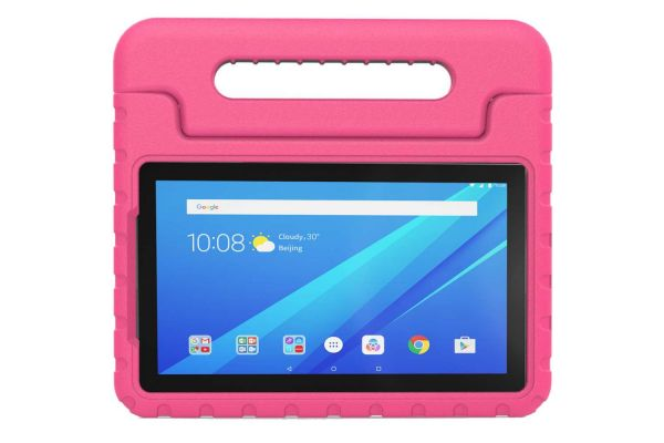 Lenovo Tab 4 10 Kinderhoes plus Roze