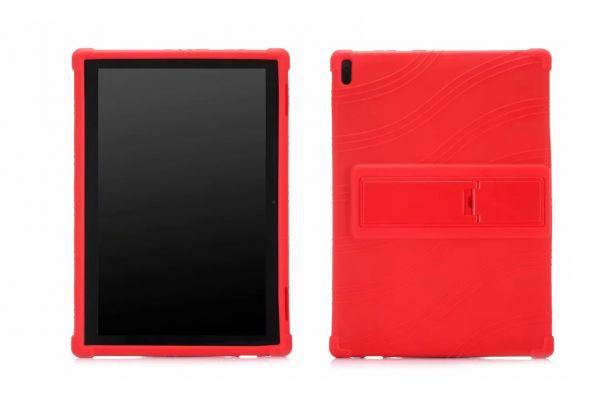 Lenovo Tab 4 10 Plus Kinderhoes backcover schokbestendig Rood