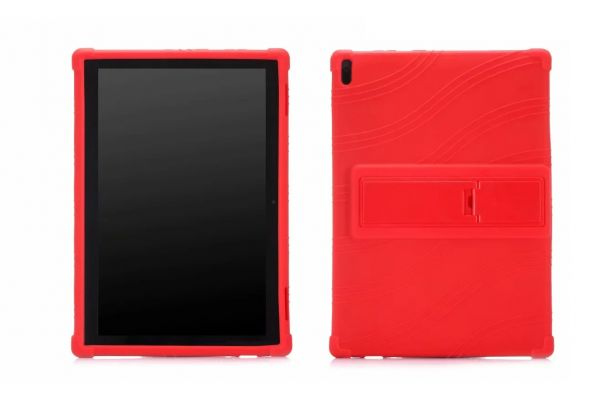 Lenovo Tab 4 10 Kinderhoes backcover schokbestendig Rood