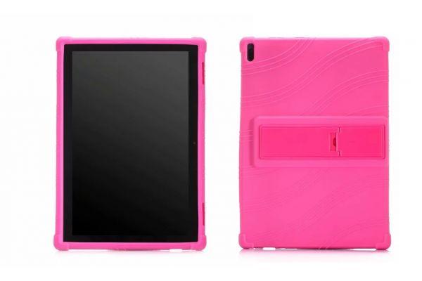 Lenovo Tab 4 10 Plus Kinderhoes backcover schokbestendig Roze