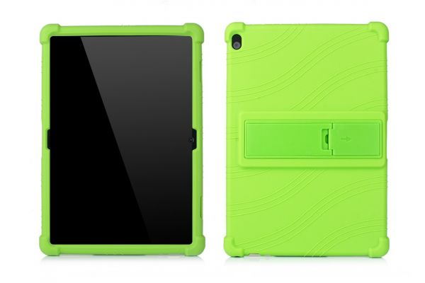 Lenovo Tab M10 (10.1 inch) Kinderhoes backcover schokbestendig Groen