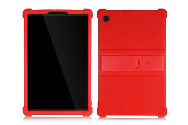 Lenovo Tab M10 Plus  (10.3 inch) Kinderhoes backcover schokbestendig Rood