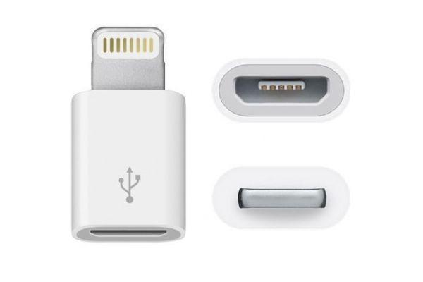 iPad-iPhone Lightning Adapter van 8 pins naar Micro USB