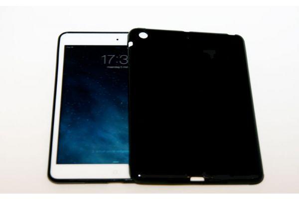 iPad Mini 1-2-3 Siliconen hoesje Zwart