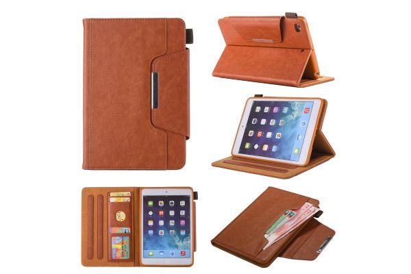 iPad Mini 4  Book Cover deluxe bruin