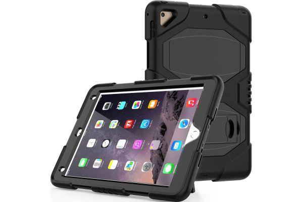 iPad 2018 9.7 Bumper Case met ingebouwde kickstand zwart