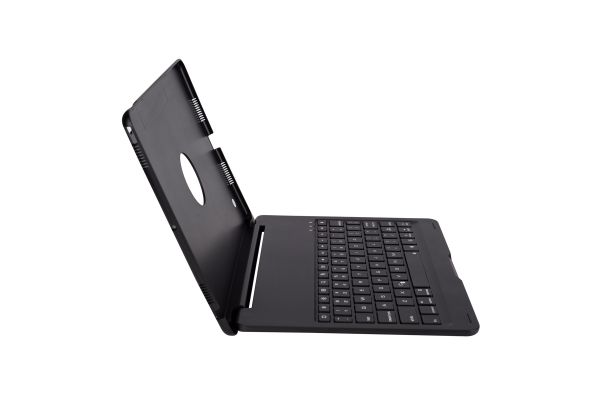 iPad Pro 10.5 Case Bluetooth Toetsenbord verlicht zwart