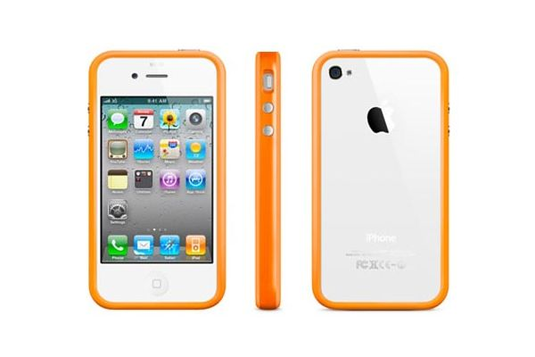 iPhone 4 / 4S Bumper Oranje