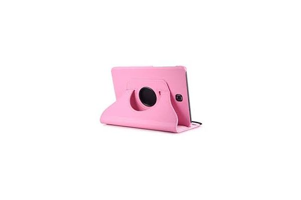 Tablet Samsung Tab S2 8.0 inch PU leer Draaibare Hoes roze