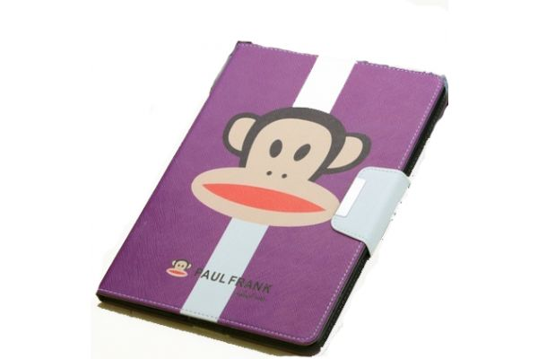iPad Mini 1-2-3 Hoes Paul Frank Aap Paars