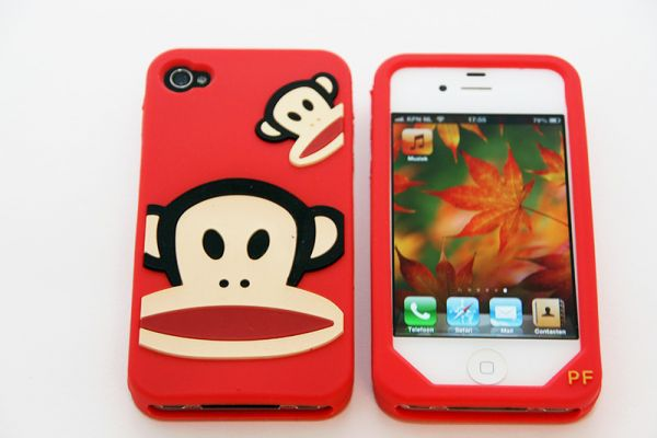iPhone 4 | 4S Hoesje Paul Frank Rood