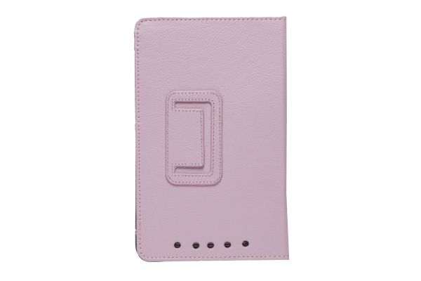 iPad Mini 1-2-3 PU Leren Book Cover Roze