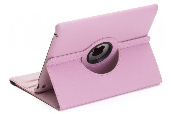 iPad Air 1 PU Leer Draaibare Hoes Roze