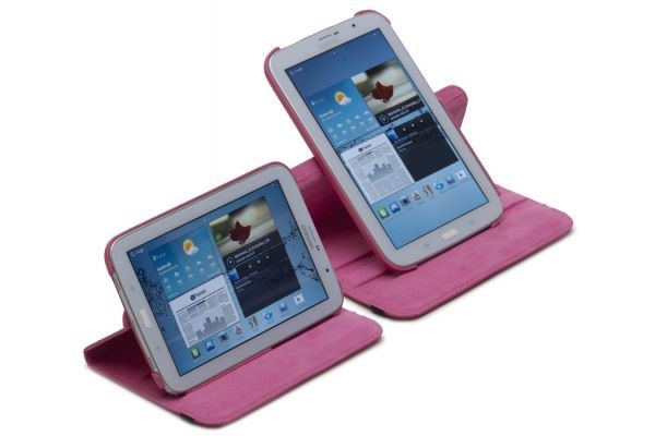 Tablet Samsung Note (8.0) N5100-N5110 Draaibare Hoes Fuchsia