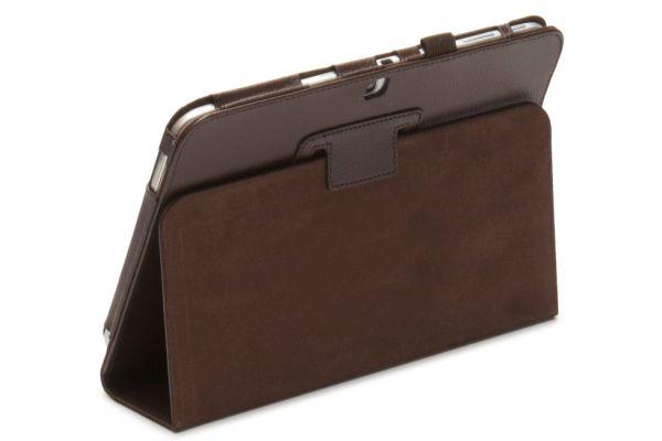 Tablet Samsung T530N-T535N Tab4-10.1-Leer-Book Cover Bruin