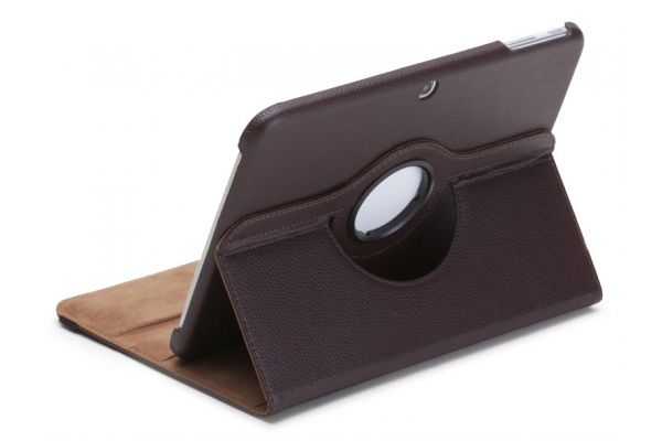 Tablet Samsung Tab 3 P5210 (10.1) Draaibare Hoes Bruin