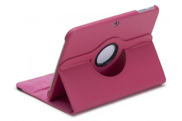 Tablet Samsung Tab 3 P5210 (10.1) Draaibare Hoes Fuchsia