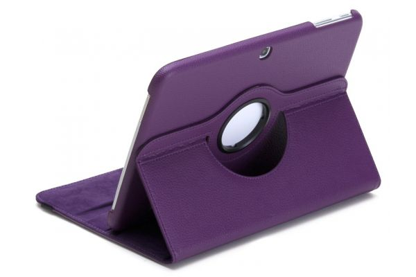 Samsung Galaxy Tab 3 (10.1) Draaibare Hoes Paars