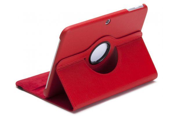 Tablet Samsung Tab 3 P5210 (10.1) Draaibare Hoes Rood