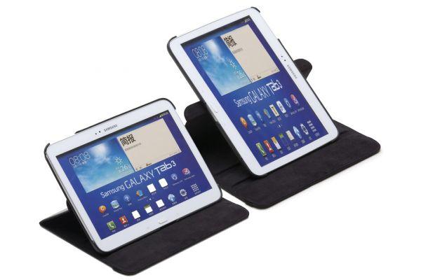 Tablet Samsung Tab 3 P5210 (10.1) Draaibare Hoes Zwart