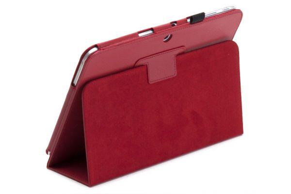 Tablet Samsung T530N-T535N Tab4-10.1-Leer-Book Cover Rood