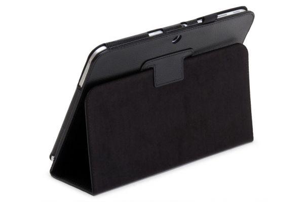 Tablet Samsung T530N-T535N Tab4-10.1-Leer-Book Cover Zwart