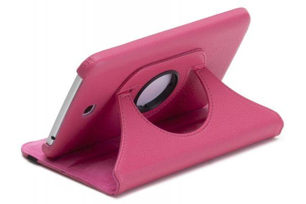Tablet Samsung Tab 3 (7.0) T210 Draaibare Hoes Fuchsia