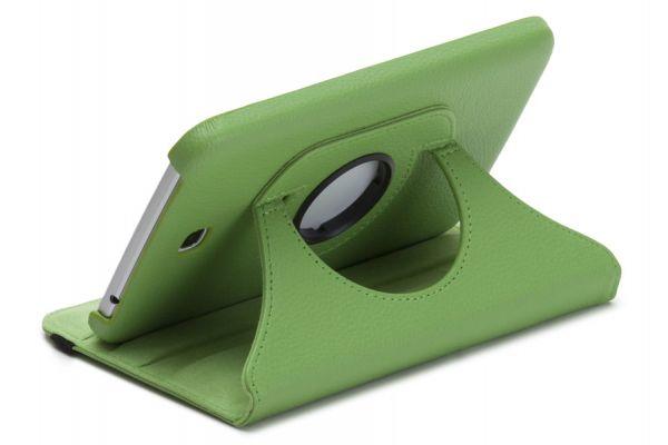 Tablet Samsung Tab S (8.4) T700 Leer Draaibare Hoes Groen