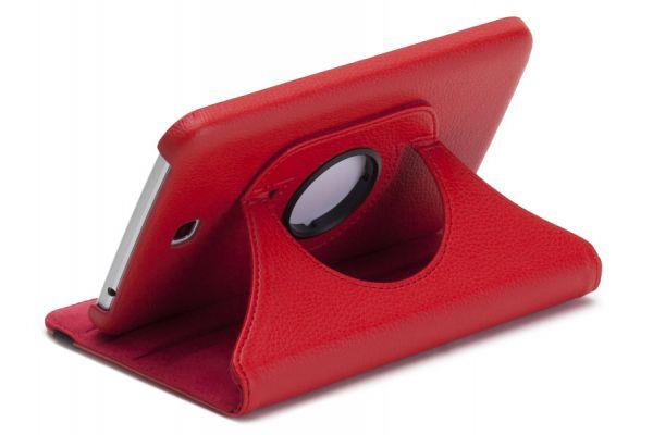 Tablet Samsung Tab S (8.4) T700 Leer Draaibare Hoes Rood