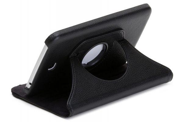 Tablet Samsung Tab S (8.4) T700 Leer Draaibare Hoes Zwart